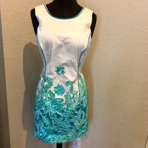 """LILLY PULITZER """"CARLOW"""" SHIFT DRESS"""
